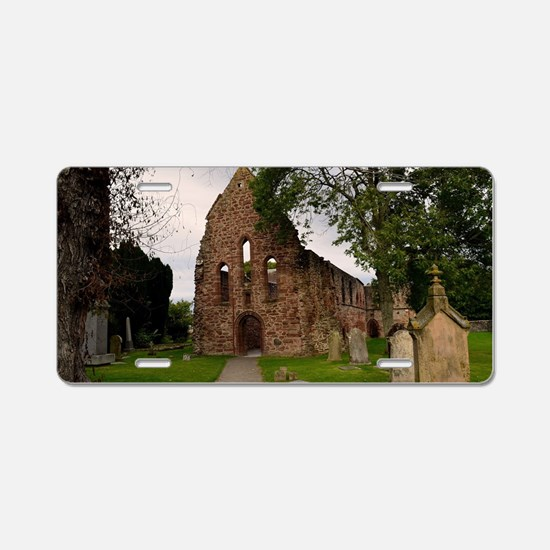 Beauly Priory Aluminum License Plate