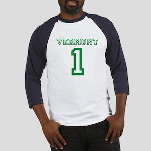 VERMONT #1 Baseball Jersey