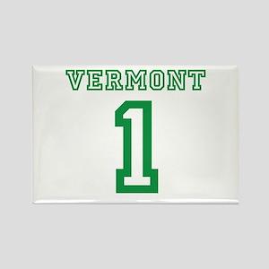 VERMONT #1 Rectangle Magnet