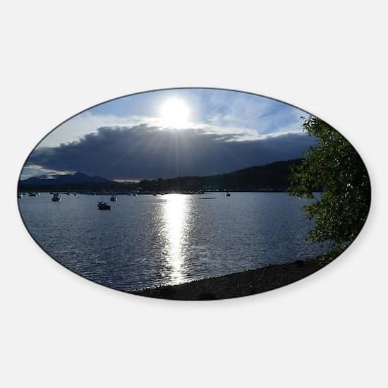 Ben Nevis Sticker (Oval)
