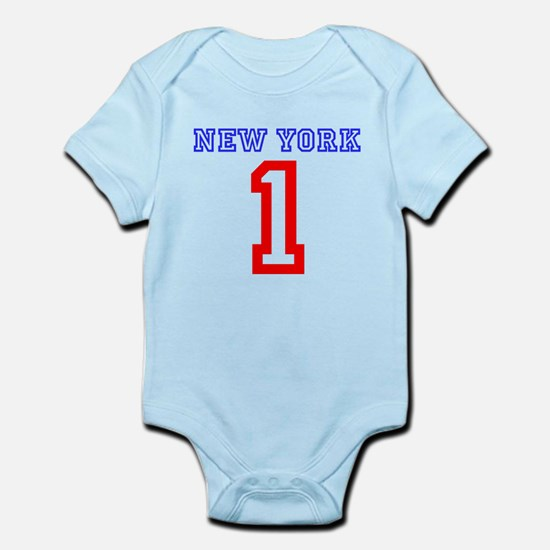 NEW YORK #1 Infant Bodysuit