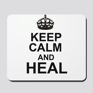 KEEP CALM and HEAL Mousepad