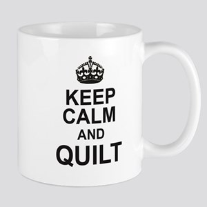 KEEP CALM and QUILT Mugs