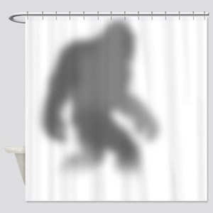 Bigfoot Shower Curtain