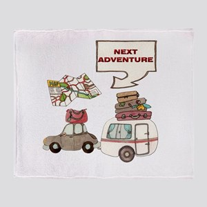NEXTADVENTURE Throw Blanket