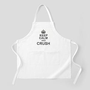 KEEP CALM and CRUSH Apron