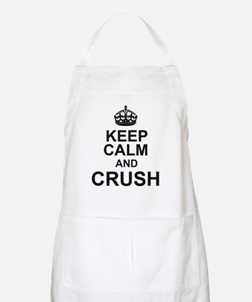 KEEP CALM and CRUSH Apron