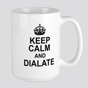KEEP CALM and DIALATE Mugs