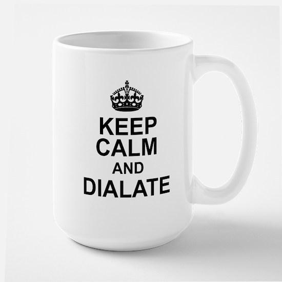 KEEP CALM and DIALATE Mugs