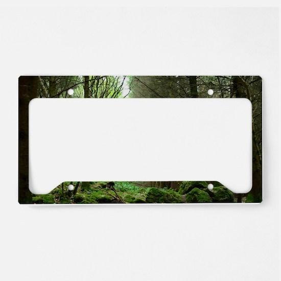 Dunvegan Forest License Plate Holder