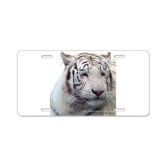 Disappearing Tigers Aluminum License Plate