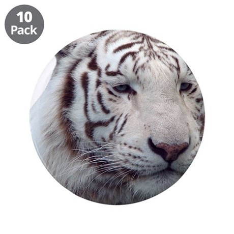 """Disappearing Tigers 3.5"""" Button (10 pack)"""