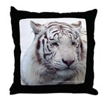 Disappearing Tigers Throw Pillow