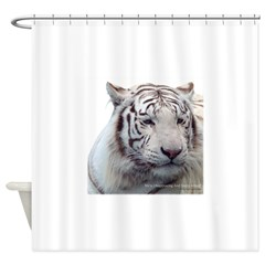 Disappearing Tigers Shower Curtain