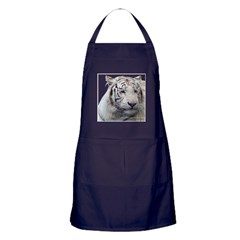 Disappearing Tigers Apron (dark)