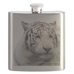 Disappearing Tigers Flask