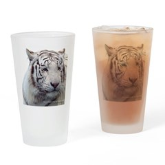Disappearing Tigers Drinking Glass