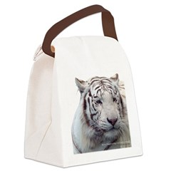 Disappearing Tigers Canvas Lunch Bag