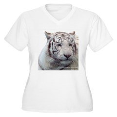 Disappearing Tigers Plus Size T-Shirt