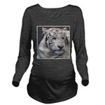 Disappearing Tigers Long Sleeve Maternity T-Shirt