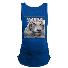 Disappearing Tigers Maternity Tank Top