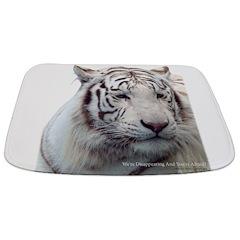 Disappearing Tigers Bathmat