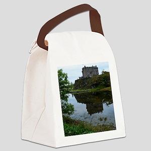 Pretty Dunvegan Castle Canvas Lunch Bag