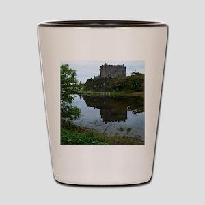 Pretty Dunvegan Castle Shot Glass