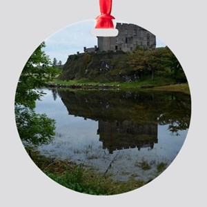 Pretty Dunvegan Castle Round Ornament