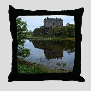Pretty Dunvegan Castle Throw Pillow