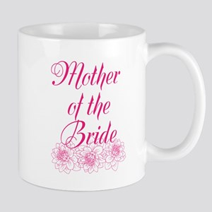 Pink Mother of the Bride Mugs
