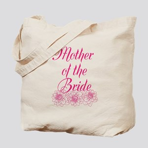 Pink Mother of the Bride Tote Bag