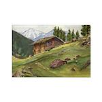Alpine Chalet Magnets