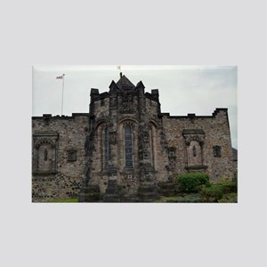 Edinburgh Castle Interior Rectangle Magnet