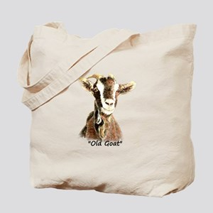 Old Goat Fun Quote for Him Tote Bag