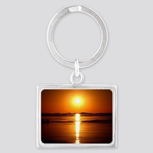 Sunset Landscape Keychain