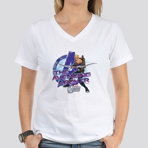 Avenging Archer Women's V-Neck T-Shirt
