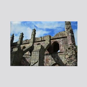 Ruins at Holyrood Abbey Rectangle Magnet