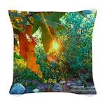 Eden Sunset Woven Throw Pillow