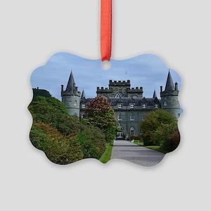 Inveraray in Scotland Picture Ornament