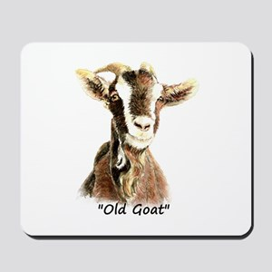 Old Goat Fun Quote for Him Mousepad