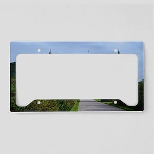 Inveraray Palace in Scotland License Plate Holder
