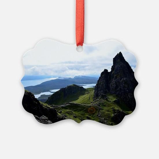 Hiking on the Isle of Skye Ornament