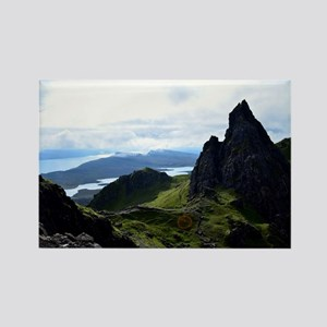 Hiking on the Isle of Skye Rectangle Magnet