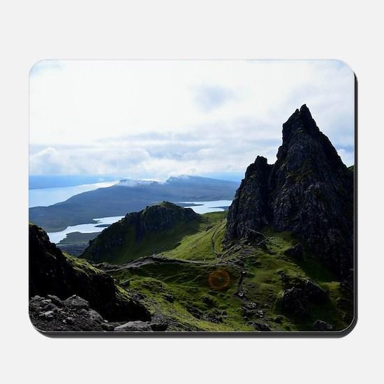 Hiking on the Isle of Skye Mousepad