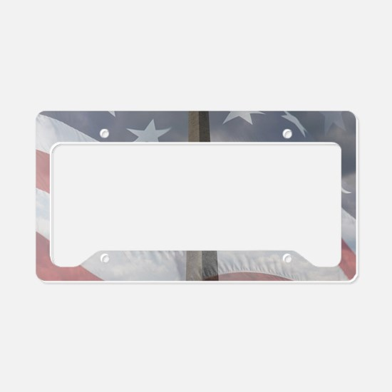 Washington Monument License Plate Holder