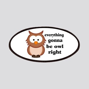 Everything Gonna Be Owl Right Patches