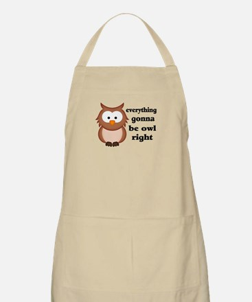 Everything Gonna Be Owl Right Apron