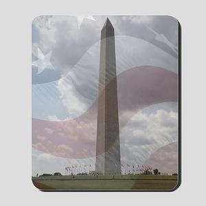 Monument in Washington DC Mousepad