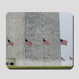 Base of Washington Monument Mousepad